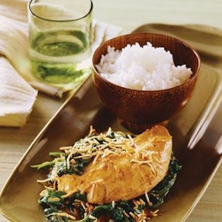 Weight Watchers Thai Chicken with Spinach