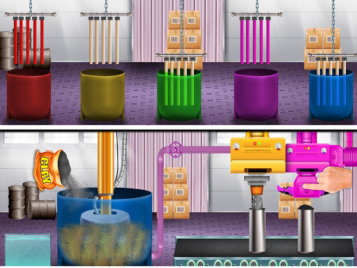 Color Pencil Maker Factory: Craft Colorful Pen  screenshots 4
