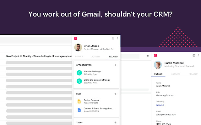 Copper CRM for Gmail