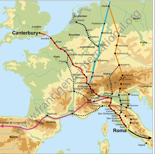 Marche 2015 de Bondues à Rome au profit de L'Arche