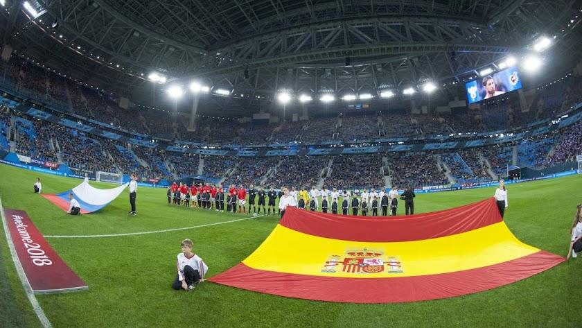 España nunca ha ganado al anfitrión en Mundiales o Euros