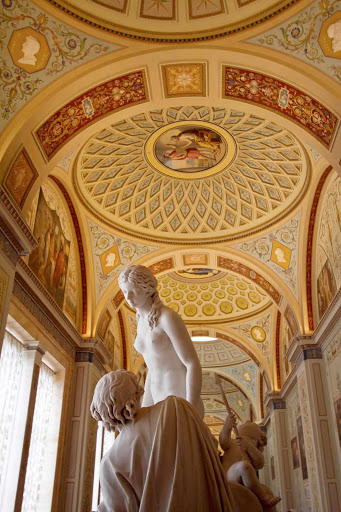 Cupid and Psyche by Antonio Canova, in the Hermitage Museum, St. Petersburg, Russia.