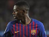 Ousmane Dembélé heeft een nieuwe blessure opgelopen bij FC Barcelona