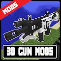 3D Gun Mods - Modern Weapon Mods For Minecraft PE icon