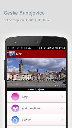 Ceske Budejovice Map offline