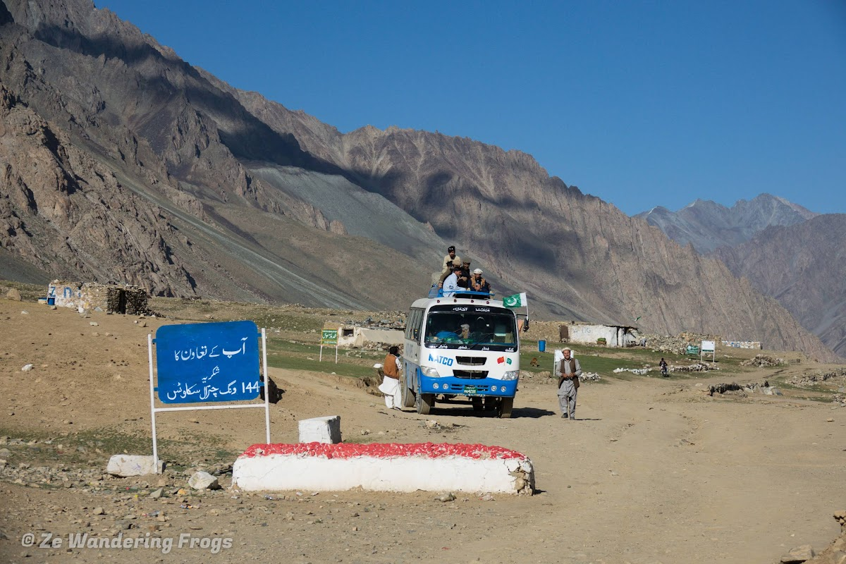 Phander Valley and Shandur National Park of Pakistan // NATCO Bus in Shandur