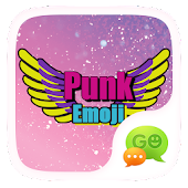 FREE- GOSMS PUNK EMOJI STICKER