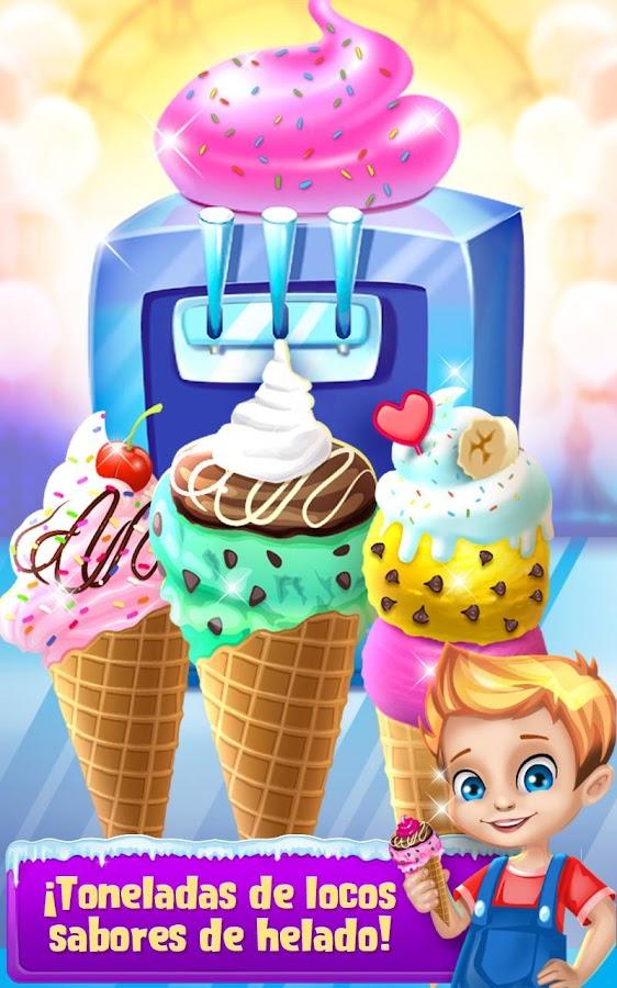 Máquina de comida congelada: captura de pantalla
