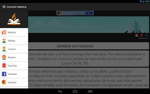 Devoción Matutina Adventista- screenshot thumbnail