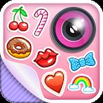 Cute Stickers Photo Editor Icon