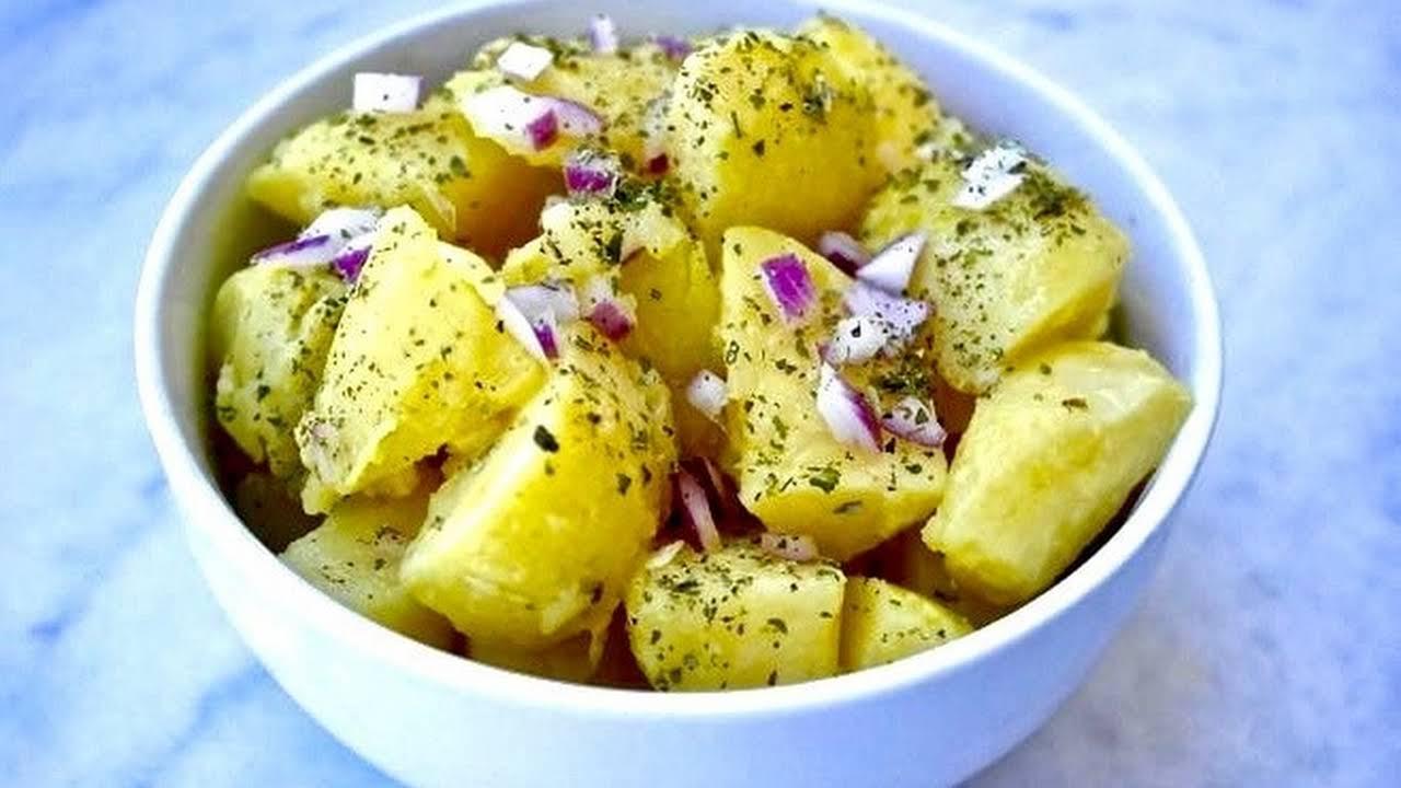 Healthy Potato Salad Recipe No Egg