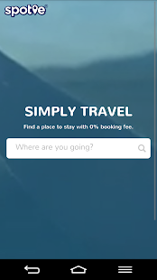 Spotie - Simply Travel- screenshot thumbnail