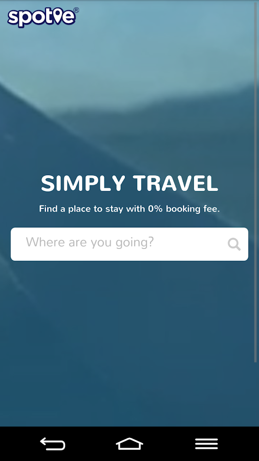 Spotie - Simply Travel- screenshot