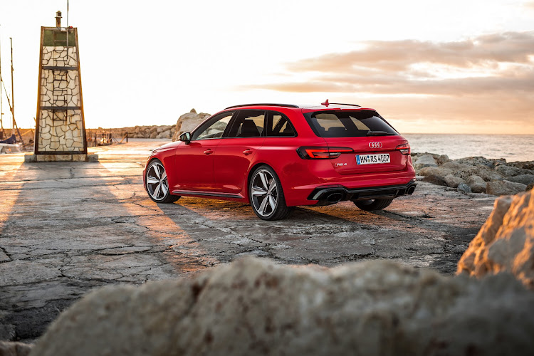 The Audi RS 4 Avant covers all the bases.