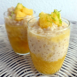 Tapioca Pudding with Pineapple and Coconut