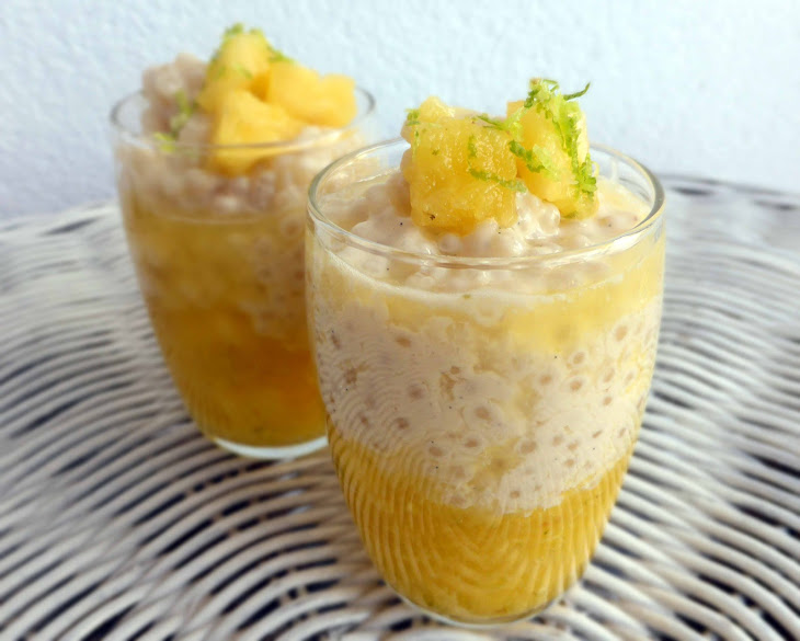 Tapioca Pudding with Pineapple and Coconut Recipe