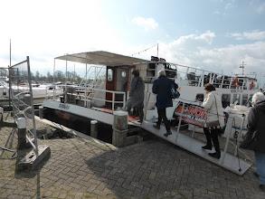 Photo: 16 maart 2016 CReO Loosdrecht Zuylen Instappen rondvaartboot
