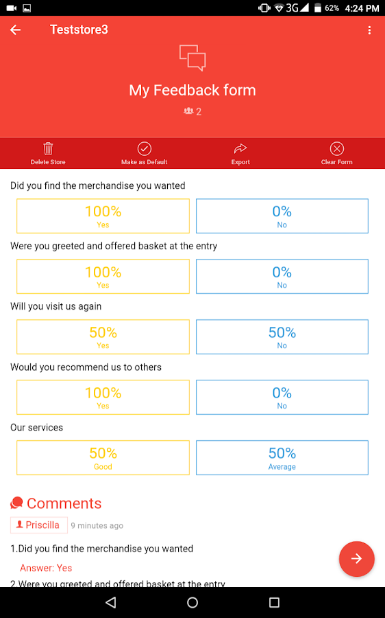 Rating and Feedback  screenshot. Rating and Feedback   Android Apps on Google Play