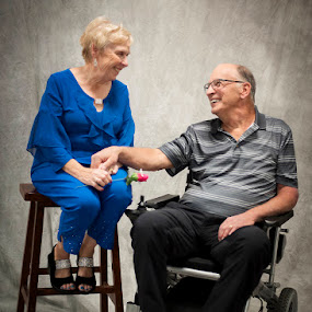 Love at Any Age by Rita Taylor - People Couples ( love, couple, anniversary,  )