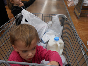 Photo: Lots of groceries and I even remembered my kids