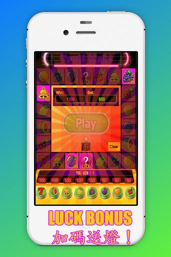 u6c34u679cu5c0fu746au8389:u62c9u9738u6a5f,BAR,Slot Machine 1.0 6