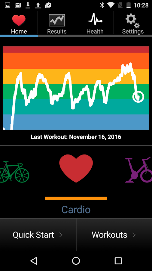 iCardio Exercise & Heart Rate- screenshot