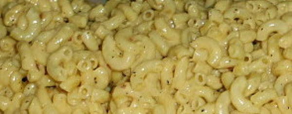 Prepare your favorite mac and cheese recipe.  Let cool.