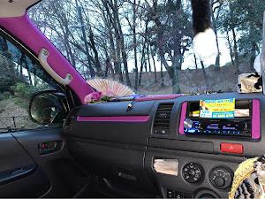 ハイエースバン TRH200V DX GLパッケージのカスタム事例画像 けいさんの2020年01月26日19:11の投稿