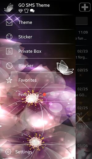 GO短信加强版水晶蝴蝶