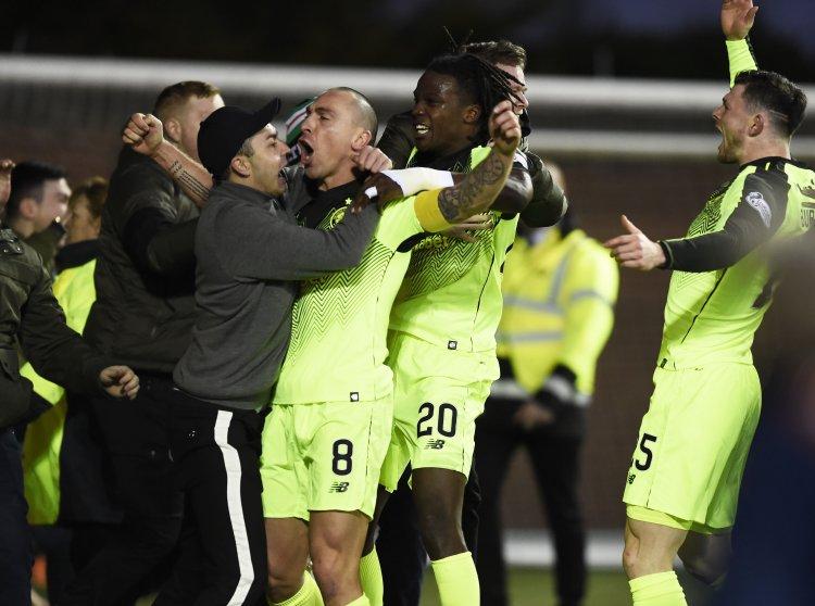 Une provocation envers un joueur du Celtic Glasgow éclipse l'actualité d'Ecosse - Belgique outre-Manche