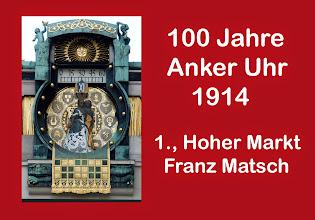 Photo: Anker Uhr 100 Jahre