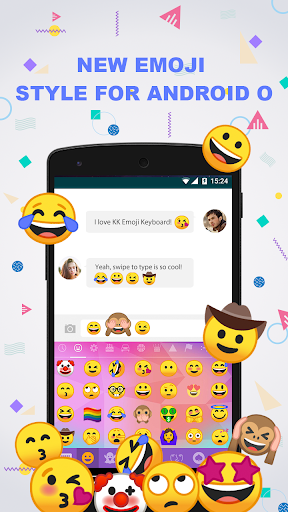 New Emoji for Android 8  screenshots 1