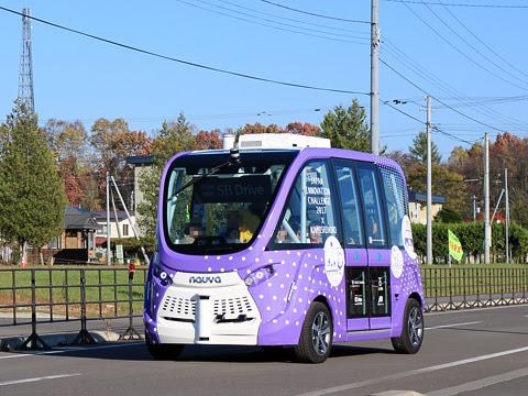 上士幌 自動運転バス実証実験_12