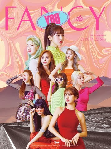 TWICE will comeback on April witn New mini album 'FANCY YOU'