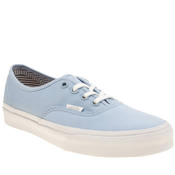 Vans Pale Blue Authentic Deck Club Trainers