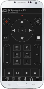 TV Remote for TCL- screenshot thumbnail
