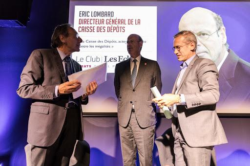 Club Les Echos Débats avec Éric Lombard (Caisse Des Dépôts)
