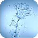 Water Rose HD Live Wallpaper icon