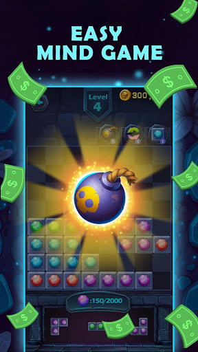 Lucky Puzzle - Play the Unique Tetris & Get Reward 1.1 screenshots 2
