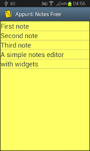 Notes Appunti free- screenshot thumbnail