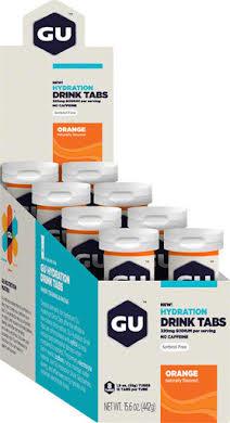 GU Hydration Drink Tabs: Orange, Box of 8 Tubes alternate image 0
