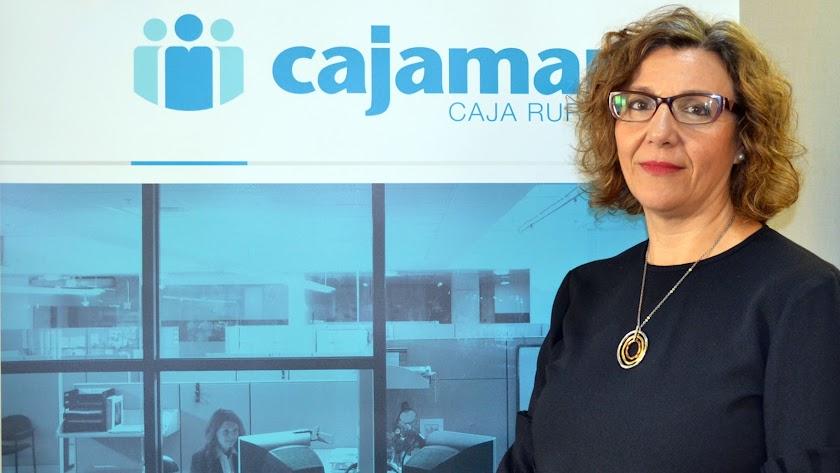 María López Fernández es la directora territorial de Cajamar.