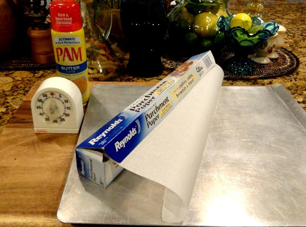 Preheat oven to 350 degrees. Line cookie sheets with foil or parchment paper and...