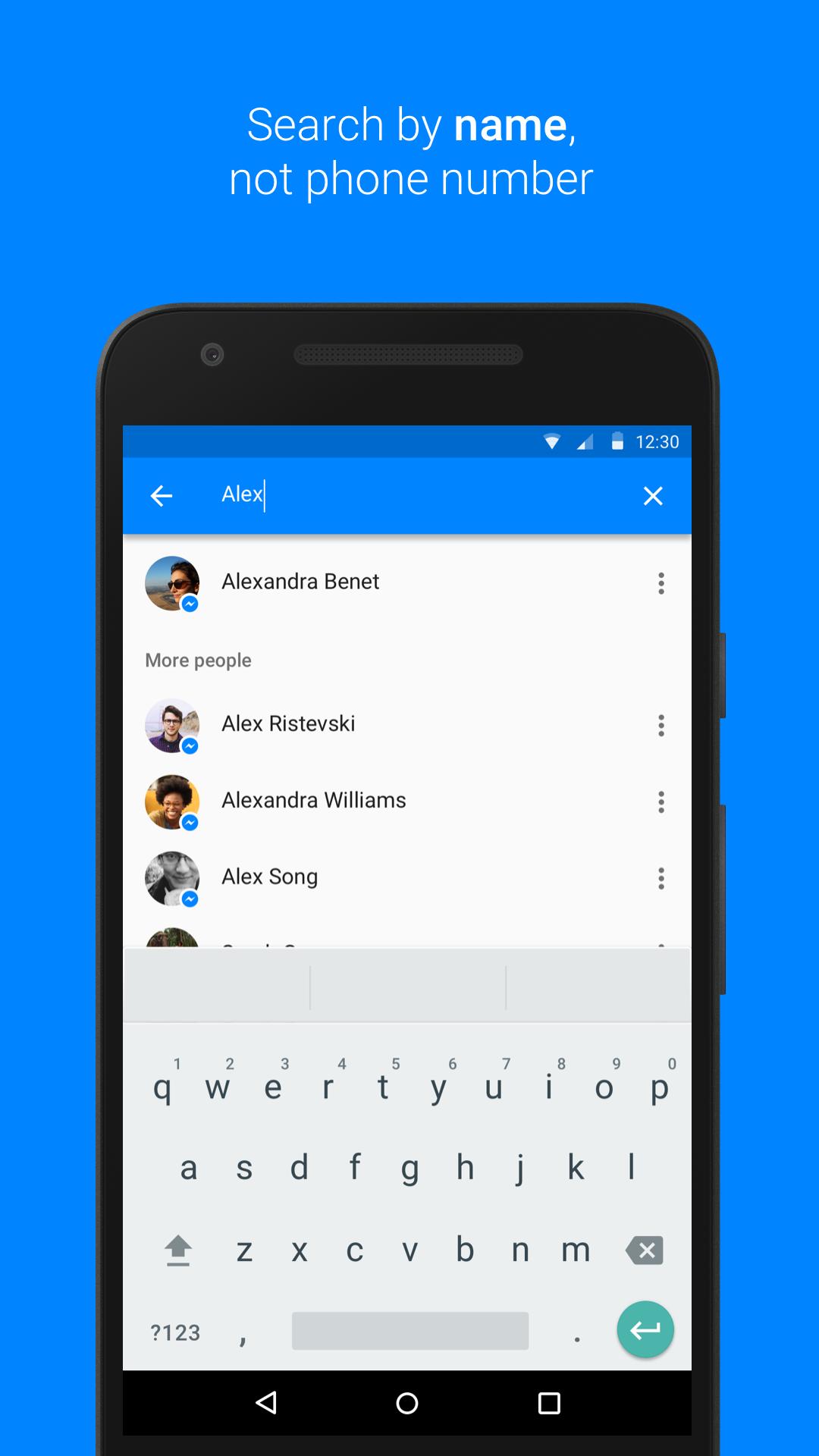 Messenger screenshot #1