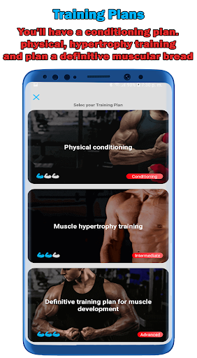 Fitness Workouts 30 Days: Routines Gym Pro screenshot 2