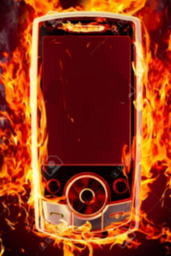 حرق شاشة الهاتف بالنيران PRANK