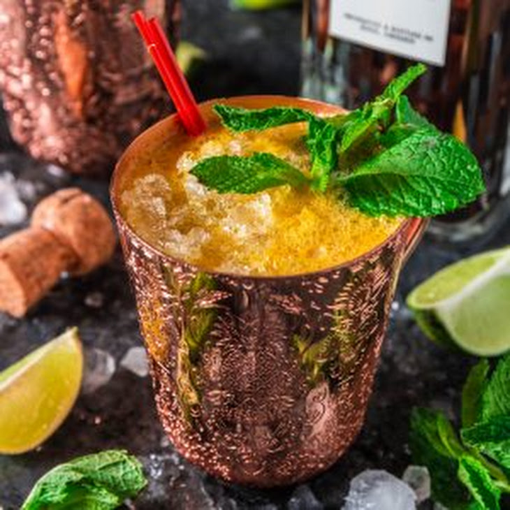 Fizzy Passion Fruit Cocktail Recipe