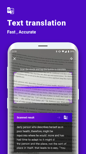 Screenshot for Super Scanner - Translation, AI, QR, File in United States Play Store