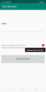 Text Bomber - náhled