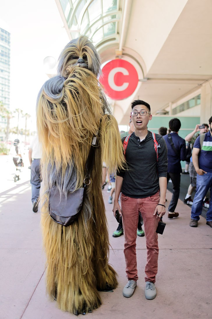 San Diego Comiccon 2015.